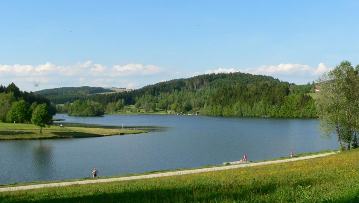 Der Rannasee im Bayerischen Wald