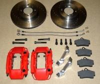 Opel Porsche Bremsanlage 4-Kolben CIH Kadett C Manta Ascona GT GTE Uniball Rennsport Motorsport CNC NEU Gruppe A