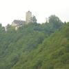 Burganlagen über der Donau